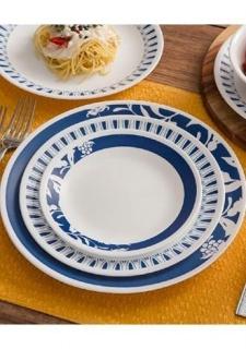 Serviciu de masă , Farfurii în set 16 piese- Corelle® Mavi