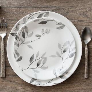 Serviciu de masă , Farfurii în set 12 piese-Corelle® Misty Leaves