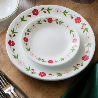 Serviciu de masă , Farfurii în set 16 piese-Corelle® Spring Pink