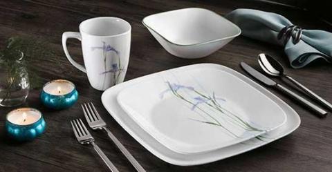 Serviciu de masă , Farfurii în set 16 piese-Corelle® Shadows IRIS