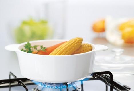 Vas de gătit termorezistent din ceramica 3l-CorningWare® Classic  formă pătrată cu Capac