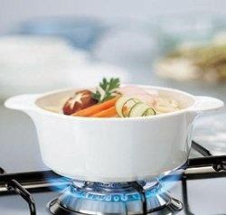 SET Vase (oale) din ceramica pentru gătit (5L & 3 L cu capac)