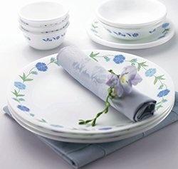 Serviciu de masă , Farfurii în set 16 piese-Corelle® Spring Blue