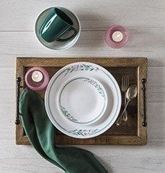 Serviciu de masă , Farfurii în set 16 piese-Corelle® Rosemarie
