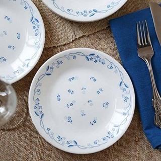 Serviciu de masă , Farfurii în set 76 piese-Corelle® Provincial Blue