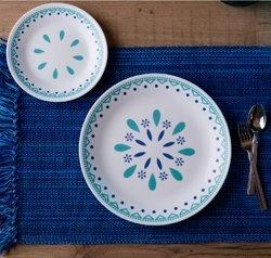 Serviciu de masă , Farfurii în set 16 piese-Corelle® Santorini Sky