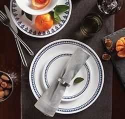 Serviciu de masă , Farfurii în set 16 piese-Corelle® Porto Calle