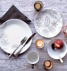 Serviciu de masă , Farfurii în set 12 piese-Corelle® Reminisce