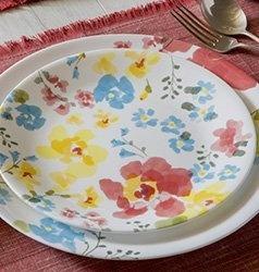 Serviciu de masă , Farfurii în set 12 piese-Corelle® Cheerful Garden