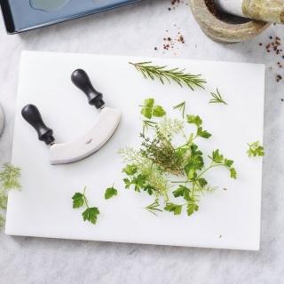 Cuțitul de tocat  verdeața 14 cm Inox -Paderno