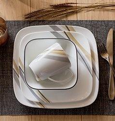 Serviciu de masă , Farfurii în set 16 piese-Corelle® Muret