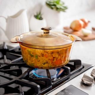 Vas de gătit termorezistent 2.8 l cu capac-Visions® Flair