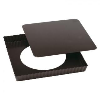 Forma pentru copt pătrată cu baza  detașabilă-Non-stick-Paderno
