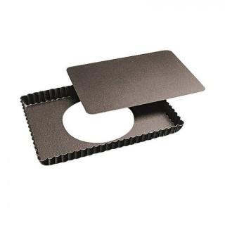Forma pentru copt rectangulară cu baza  detașabilă-Non-stick-Paderno