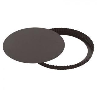 Formă pentru copt rotundă cu baza  detașabilă-Non-stick-Paderno