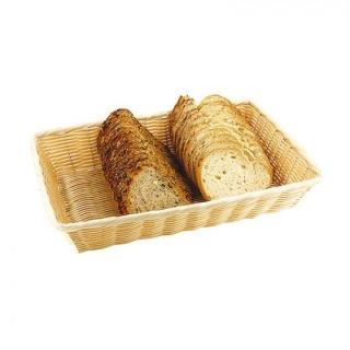 Coș de pâine rectangular polyratan-Paderno