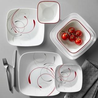 Serviciu de masă , Farfurii în set 16 piese- Corelle® Splendor