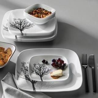 Serviciu de masă , Farfurii în set 16 piese- Corelle® Timber Shadows