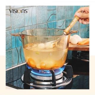 Vas de gătit termorezistent 1.2 l cu capac-Visions® Flair