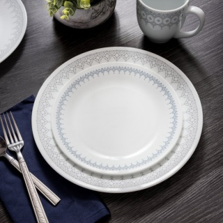 Serviciu de masă , Farfurii în set 16 piese-Corelle® Evening Lattice