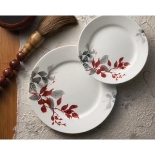 Serviciu de masă , Farfurii în set 16 piese-Corelle® Kyoto Leaves