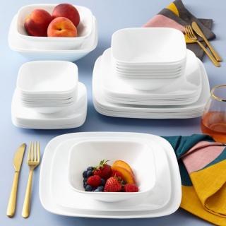 Serviciu de masă , Farfurii în set 30 piese-Corelle® Pure White