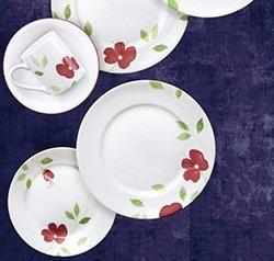 Serviciu de masă , Farfurii în set 16 piese- Corelle® Paradise Garden