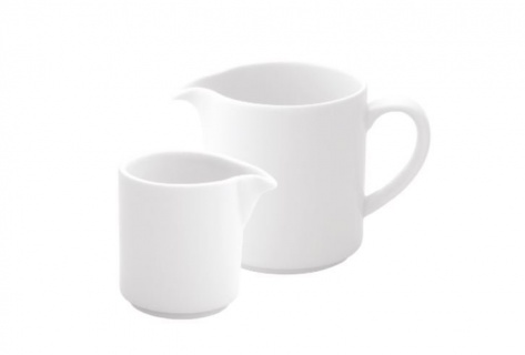 Latiera, recipient pentru cafea/lapte/ceai, portelan, cremiera, vas pentru frisca -Ariane Prime Porțelan