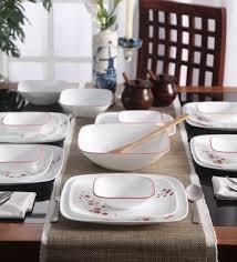 Serviciu de masă , Farfurii în set 16 piese-Corelle® Hanami Gardens