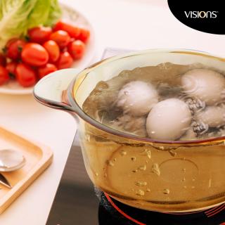 Vas de gătit termorezistent 1.25 l cu capac-Visions® Standard