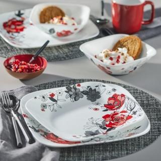Serviciu de masă , Farfurii în set 16 piese-Corelle® Chelsea Rose