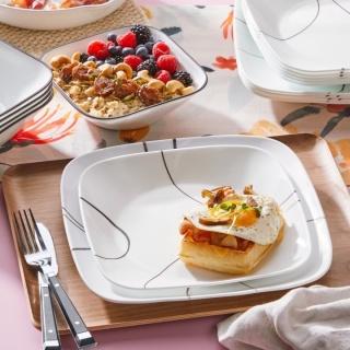 Serviciu de masă , Farfurii în set 16 piese-Corelle® Simple Lines