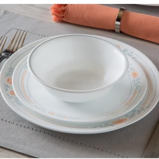 Serviciu de masă , Farfurii în set 76 piese-Corelle® Apricot Grove