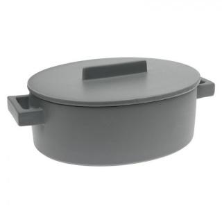 Vas cu capac oval TerraCotto -4,5 L- Sambonet