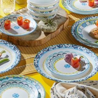Serviciu de masă , Farfurii în set 18 piese-Corelle® Boho DayDream