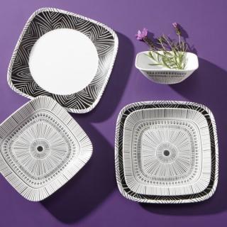 Serviciu de masă , Farfurii în set 18 piese-Corelle® Imani