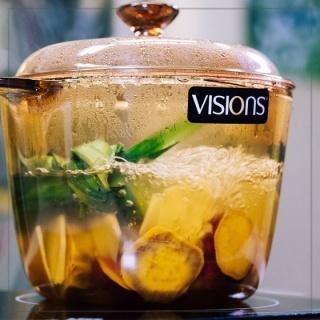 Vas de gătit termorezistent 3.5 L cu capac-Visions® Standard