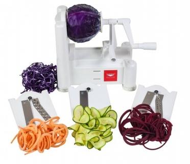 Spiralizator de legume cu trei lame de tăiat  Paderno
