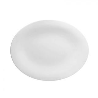 Platou oval porțelan Bone china -  diverse mărimi -Neve -Paderno